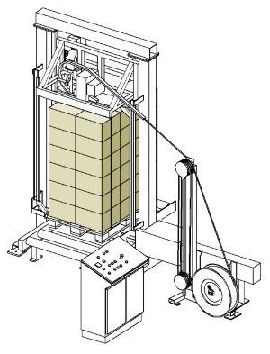 Páskovací automat pro příčné páskování